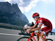 Ильнур Закарин финишировал третьим на 132-километровом этапе велогонки «Джиро д Италия»