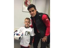7-летний Алексей Филиппов выйдет на футбольный матч Россия - Англия на Евро-2016