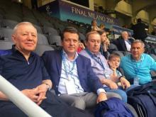 Рустам Минниханов посмотрел финал Лиги чемпионов с VIP-трибуны стадиона в Милане