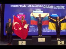 Миляуша Гимранова взяла «золото» и левой, и правой рукой на чемпионате Европы по армспорту