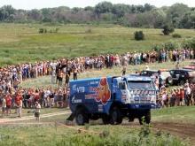 Где можно посмотреть гонки 'Шелковый путь' в Татарстане. Можно и зайти в лагерь гонщиков