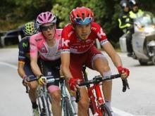 Ильнур Закарин отыграл 100 позиций на велогонке «Тур де Франс»