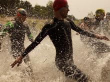 Команда из Ижевска лидировала на кросс-триатлоне в Набережных Челнах