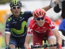 Ильнур Закарин сокращает отрыв от лидеров велогонки «Тур де Франс»