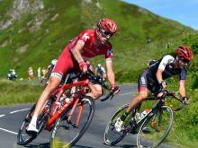 Ильнур Закарин отстает от лидера велогонки «Тур де Франс» всего на 16 секунд