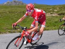Ильнур Закарин уступил еще пять позиций своим соперникам на многодневке 'Тур де Франс'