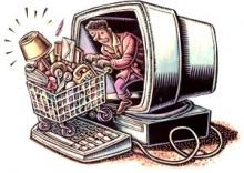 Покупатели уходят в интернет