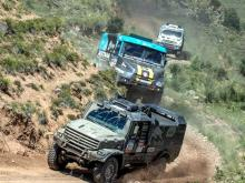 Победителем 9 этапа ралли 'Шелковый путь' стал экипаж Айрата Мардеева