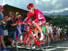 Ильнур Закарин пока в тридцатке лучших на велогонке 'Тур де Франс'