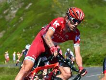 Ильнур Закарин преодолел королевский этап 'Тур де Франс' с четырьмя горными подъемами
