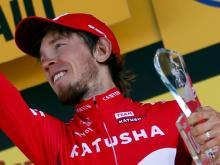 Ильнур Закарин завершил велогонку 'Тур де Франс' на 25-м месте