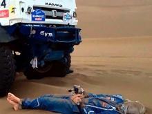 'Мумия в песках пустыни Гоби': пилот Андрей Каргинов на отдыхе
