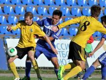 Футбольный клуб 'КАМАЗ' потерпел первое поражение в сезоне от ульяновской 'Волги'