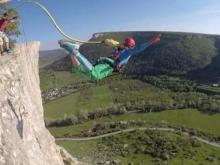Команда Евгения Колдуна едет на Кавказ, чтобы установить рекорд России по экстремальным прыжкам