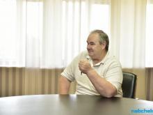 Наиль Магдеев встретился с бывшим главным тренером ФК 'КАМАЗ' Валерием Четвериком