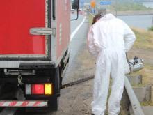 Машины, въезжающие в РТ из Чувашии, обливаются спецраствором - у соседей эпидемия чумы свиней