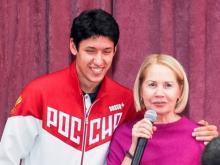 Серебряный призер Олимпиады в Рио выступил перед студентами педуниверситета в Челнах