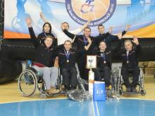 Челнинская баскетбольная команда на колясках заняла 4-е место на турнире в Тюмени