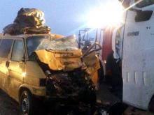 На автотрассе 'Елабуга - Пермь' в ДТП с грузовиком погиб 75-летний водитель
