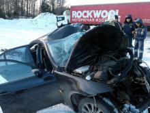 Челнинец на 'БМВ' разбился насмерть, столкнувшись на трассе М-7 с фурой