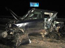 На автотрассе 'Елабуга - Пермь' в столкновении с 'Газелью' погибли пассажиры 'Шкоды'