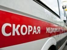 На проспекте Мира в резко затормозившем автобусе упала женщина и получила травму головы