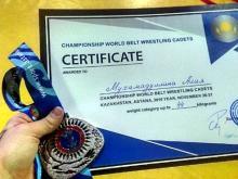 Девочки-борцы на поясах из Набережных Челнов взяли серебро и бронзу на чемпионате мира