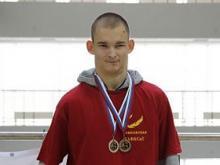Сергей Селиванов завоевал 2 серебряные медали на чемпионате России по адаптивному скалолазанию