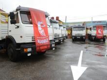 Вице-премьер РФ Дмитрий Рогозин передал Кубе первую партию поставленных грузовиков 'КАМАЗ'