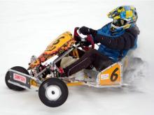 18-летний челнинец устроил гонки на карте по льду реки Камы (видео)