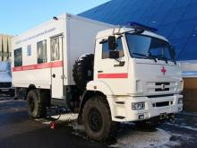 'КАМАЗу' заказали уже более 100 автомобилей скорой помощи на шасси грузовика
