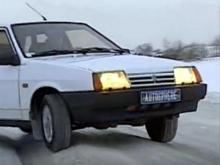 Как выбраться на автомобиле из снежной колеи: советы эксперта (видео)