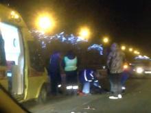 Сбитый машиной на проспекте Мира парень с тяжелейшими травмами доставлен в БСМП