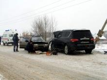 В Татарстане внедорожник 'Инфинити' протаранил 'ВАЗ-2111' - погиб 60-летний водитель