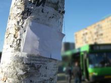 На очистку опор освещения от объявлений из бюджета Челнов выделено 535000 рублей