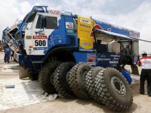 Немецкая компания проверит свои грузовые шины на грузовиках 'КАМАЗ' во время 'Дакара'
