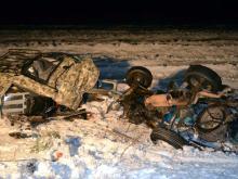 В Башкирии на трассе М-5 в столкновении четырех машин погибла семья из Татарстана