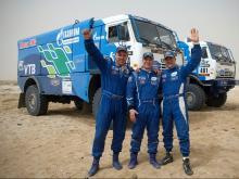 «Газовый КАМАЗ» на AfricaEcoRace 2017: Новый бампер и новые шины