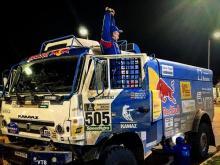 Эдуард Николаев первый в классе грузовиков на третьем этапе ралли 'Дакар 2017'