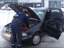 В ДТП на перекрестке Хасана Туфана и Сююмбике водителя зажало в разбитой машине
