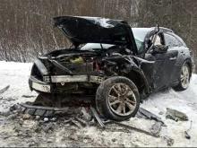 Водитель из Татарстана, ехавший в резиденцию Деда Мороза, попал в ДТП - пострадало 11 человек
