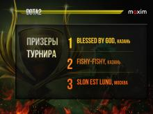 Cервис такси провел турнир по игре Dota2, выставив призом 50 000 рублей. Выиграли казанцы