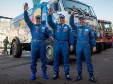 Андрей Каргинов досрочно стал победителем ралли 'Африка Эко Рейс 2017' в классе грузовиков
