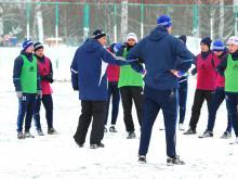 Футболисты «КАМАЗа» начали подготовку к весенним играм
