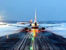В новогодние праздники аэропорт 'Бегишево' принял и отправил почти 22 тысячи авиапассажиров