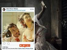 Челнинцы присоединяются к культурному флэшмобу, размещая на страницах в соцсети картины