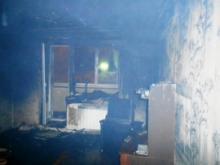 В поселке ГЭС ночью выгорела квартира, хозяина которой полицейские пока не могут найти