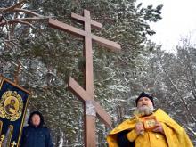 Православный крест у родника убрали. Взамен построят храм на улице 40 лет Победы