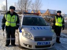 В Татарстане на дороге замерзали трое детей. Никто не остановился помочь, кроме инспекторов ГИБДД