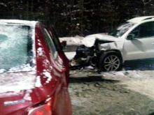 В Татарстане при столкновении двух легковых автомобилей погибла 43-летняя автоледи